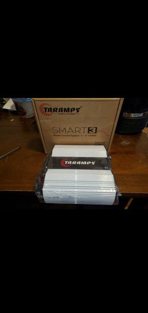 Taramps Smart 3 - 1 or 2 Ohm Amplifier 3000watts RMS for Sale in The Bronx, NY