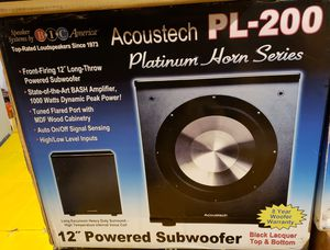 BIC ACOUSTEC PL-200 Subwoofer for Sale in Homestead, PA