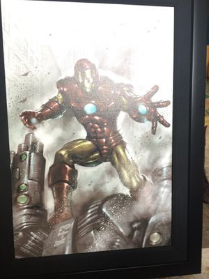 Marvel's Iron Man signed by late Stan Lee # 3/10 for Sale in North Providence, RI