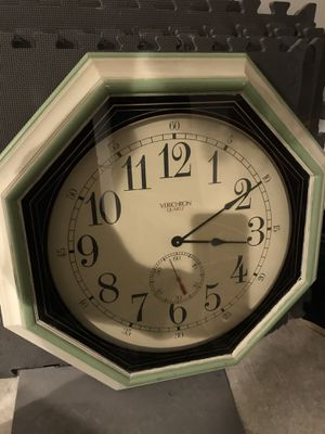 Big wall clock needs new mechanism for Sale in North Potomac, MD