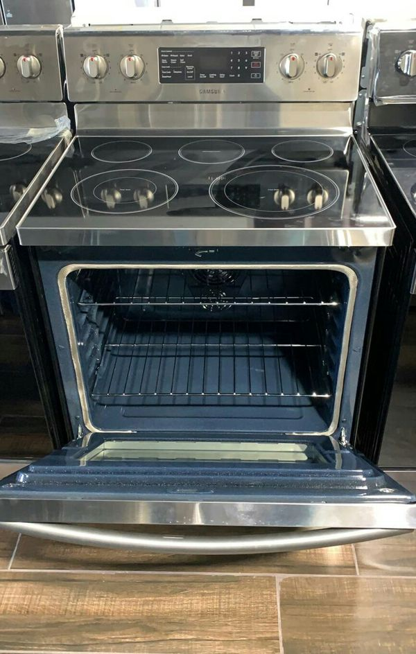 Samsung electric range stove