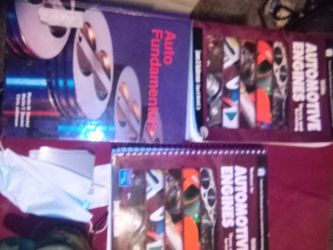 Engine Repair Textbooks And Auto Fundamentals for Sale in Fresno,  CA