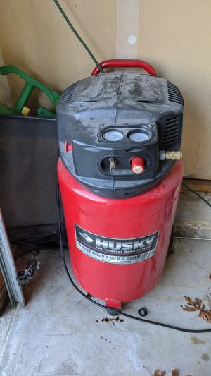Husky air compressor 20 gallons for Sale in Brick Township, NJ