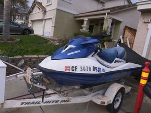 Jet ski and double wide Trailer-$2500 for Sale in Oakley, CA