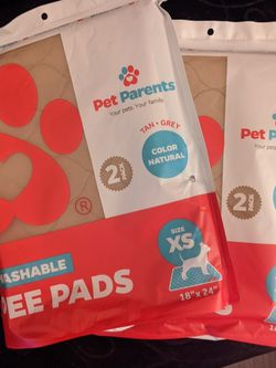 2pcks Of Pet Parent Washable Pee Pads for Sale in Seattle,  WA