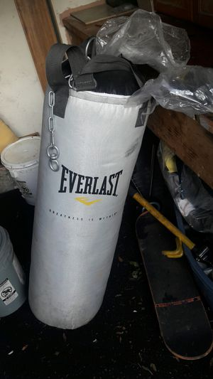 A speed bag and heavy bag for Sale in San Jose, CA