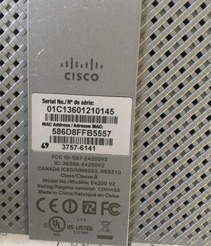 CISCO LINKSY E4200 wireless router for Sale in Pocatello, ID