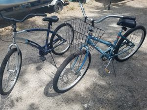 26 inch his and her bikes set read description for Sale in Orlando, FL