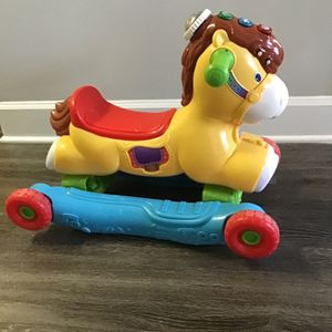 VTech, Gallop And Rock Learning Pony, Interactive Ride-on Toy for Sale in Atlanta, GA