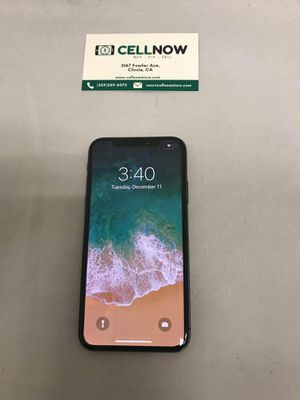 Iphone X - 64 Gb- AT&T for Sale in Fresno, CA