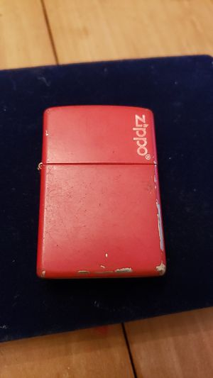 Red Zippo lighter matte finish for Sale in Brook Park, OH