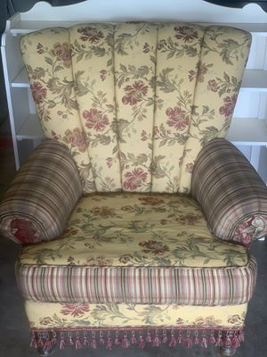 Wingback upholstered chair for Sale in Clovis, CA