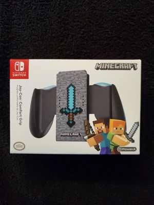 Nintendo Switch MineCraft JoyCon Comfort Grip for Sale in Yonkers, NY