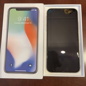 iPhone X 256gb (T-Mobile) for Sale in Camp Springs, MD