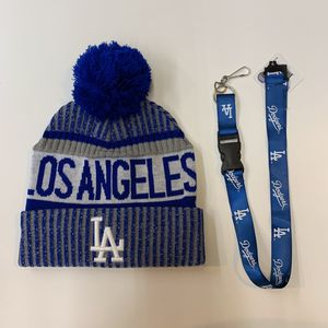 Dodgers Beanie and key chain for Sale in Los Angeles, CA
