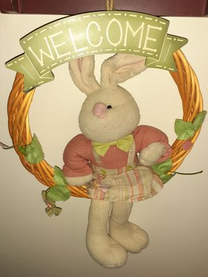 Welcome hanging rabbit for Sale in Woonsocket, RI