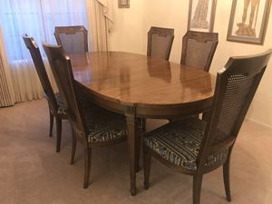 Dining Room Set - Table, Chairs Hutch and Console for Sale in Las Vegas, NV