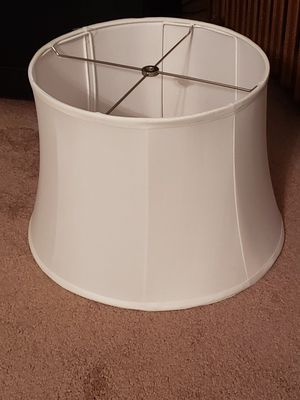 White lamp shade for Sale in Pittsburgh, PA