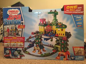 Thomas friends super station toys for Sale in Nashville, TN