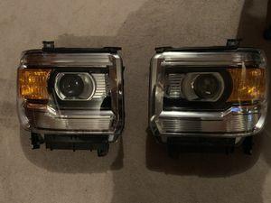 GMC Sierra OEM headlights w/o led for Sale in Taylorsville, UT
