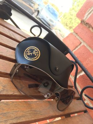 Ray Ban RB3268 Brushed Metal Wrap Glasses for Sale in El Paso, TX