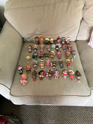 Lol Dolls w/accessories. All included with purchase. for Sale in Sewell, NJ