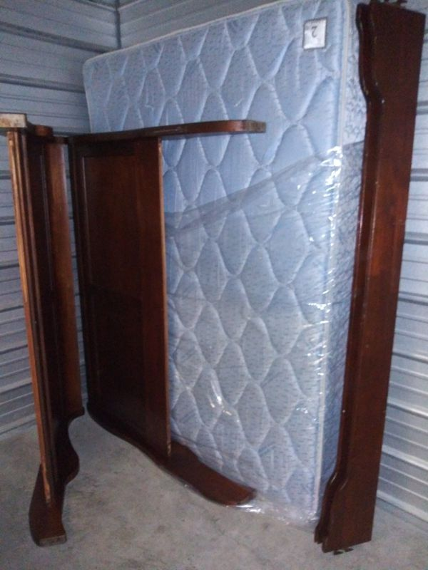 Queen Size bed solid wood
