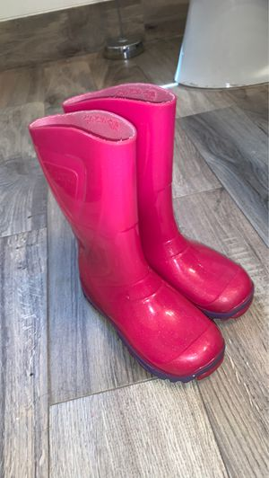 Pink Shimmer Rain boots for Sale in Walton Hills, OH