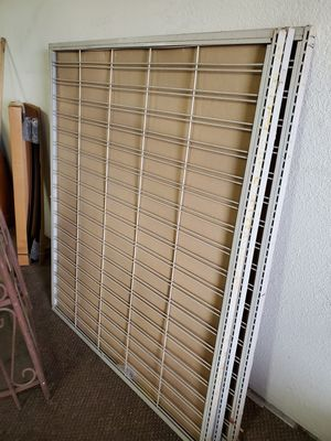 3 Wall racks for Shelves, comes with shelves, Asking 40 each with 4 metal shelves for Sale in Apple Valley, CA
