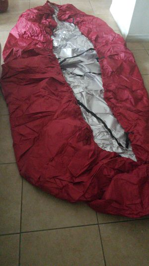 Red Fishing Boat Cover Waterproof. Small 11 to 13 ft.. for Sale in Miramar, FL