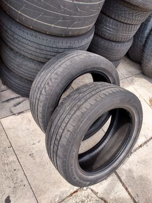 2 tires 235/50/18 Firestone for Sale in Riviera Beach, FL