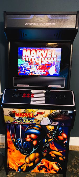 1299 games arcade machine full size for Sale in Loganville, GA
