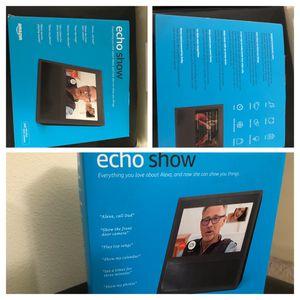 Amazon echo show NEW for Sale in Redmond, WA
