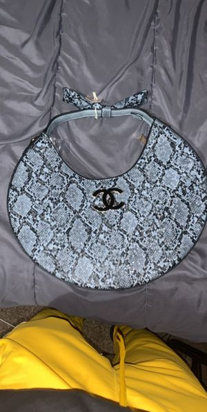 Snake Print Channel Purse for Sale in Missouri City, TX