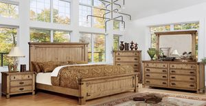 King Rustic Bedroom Set for Sale in Siloam Springs, AR