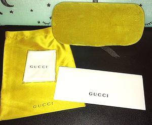 Gucci glasses case & accessories for Sale in Colton, CA