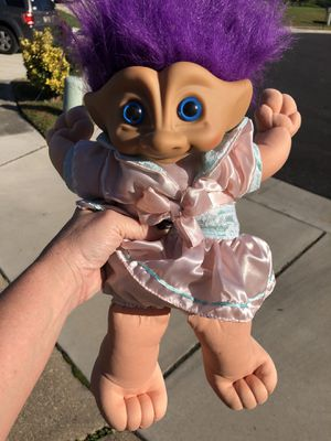 Large troll doll for Sale in Miami Beach, FL