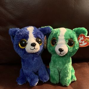 "Cute 6"" T-Bone and Dill Beanie Boos for Sale in Land O Lakes, FL"
