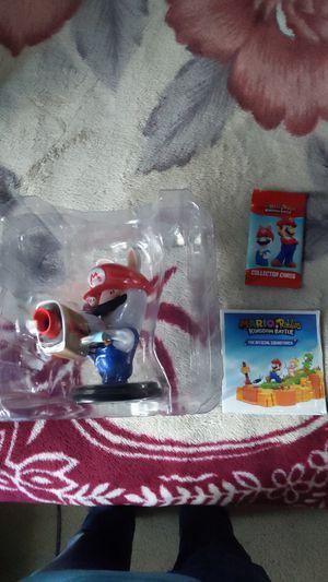 Mario and rabbids kingdom battle collectors edition (no game) for Sale in Sacramento, CA