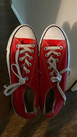 Red Converse (Used) for Sale in Mansfield, TX