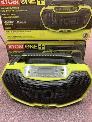 New Ryobi 18v Hybrid Bluetooth Radio for Sale in Waltham, MA