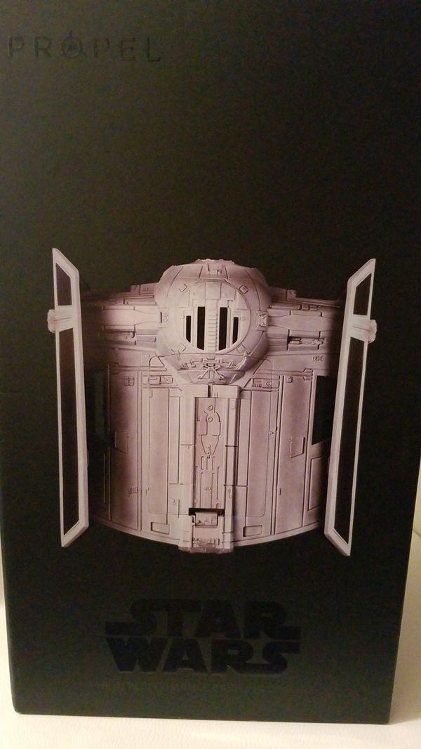 PROPEL STARWARS QUADCOPTER: tie fighter collectors edition box.
