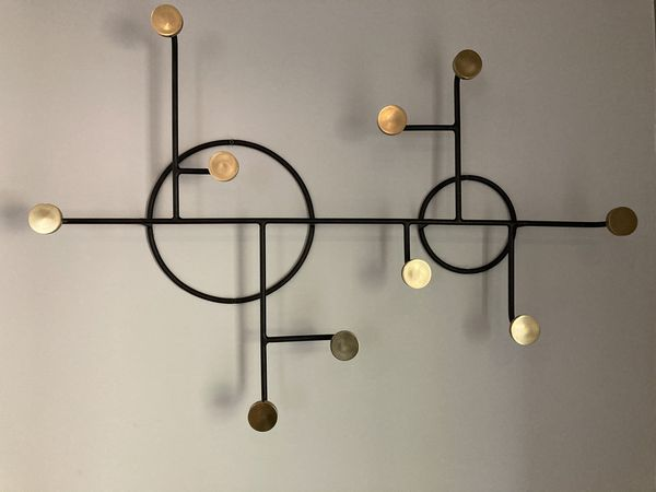 Crate & Barrel wall art hooks