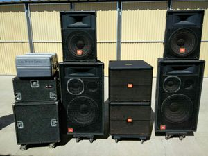 DJ equipment, audio sound system for Sale in Bakersfield, CA