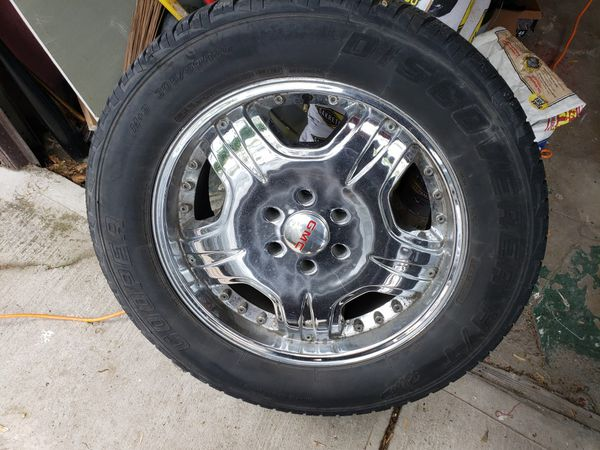 Gmc and chevy rims