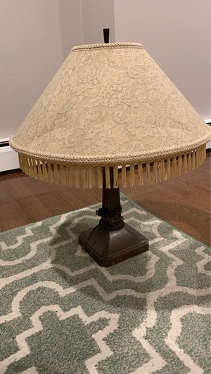 Antique lamp with lace detailing for Sale in Trenton, NJ