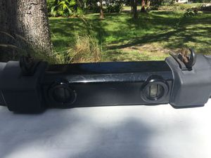 Jeep Wrangler custom front bumper with TWO tow hooks for Sale in Westchase, FL