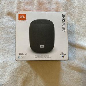 JBL Link Music Smart Speaker - Black Ed. for Sale in Ansonia, CT