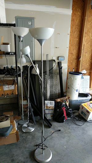 Standing lamps for Sale in Durham, NC