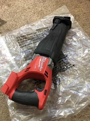 Milwaukee New saw zall fuel (tool only) Nuevo for Sale in Los Angeles, CA